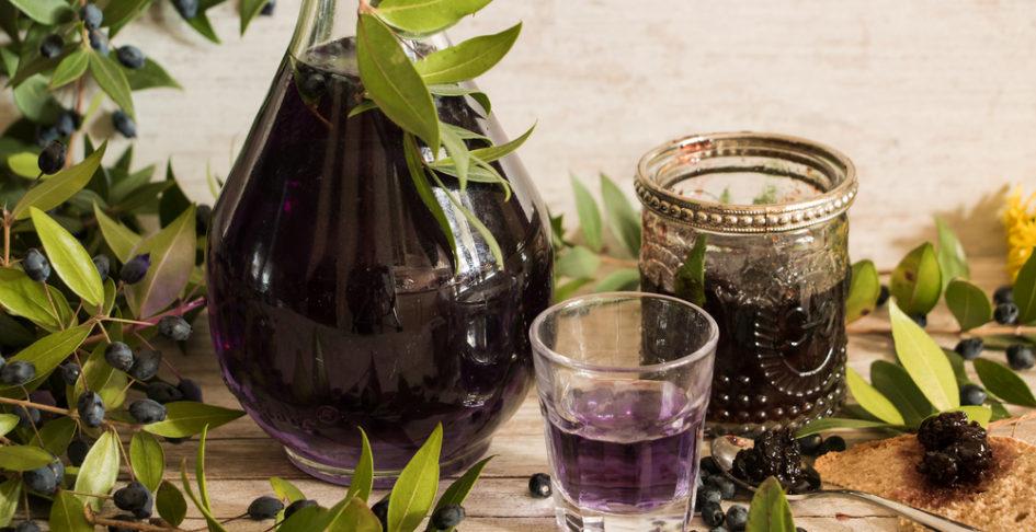 Liqueur-myrte