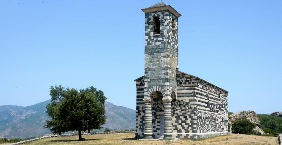 San Michele murato église, Corsica.